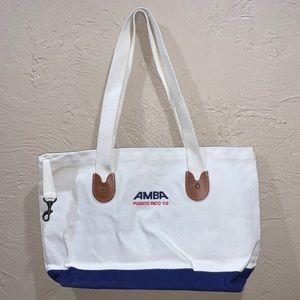 Vintage 2002 AMBA Puerto Rico Tote Bag